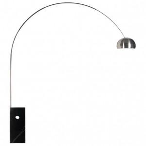 Oblouková stojací lampa
