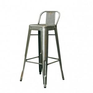 Barová židle s opěradlem - Xavier Pauchard