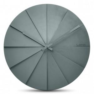 Nástěnné hodiny Scope šedé 45cm