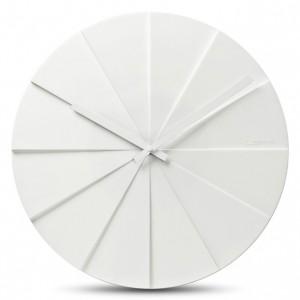 Nástěnné hodiny Scope bílé, 45cm