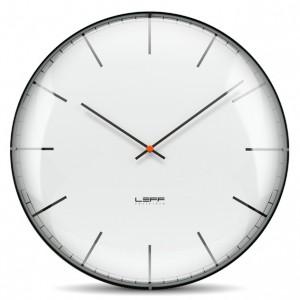 Nástěnné hodiny One bílé - sklo 45cm