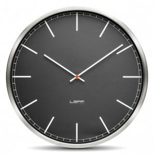 Nástěnné hodiny One černé 45cm