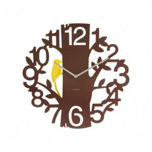Nástěnné hodiny Woodpecker
