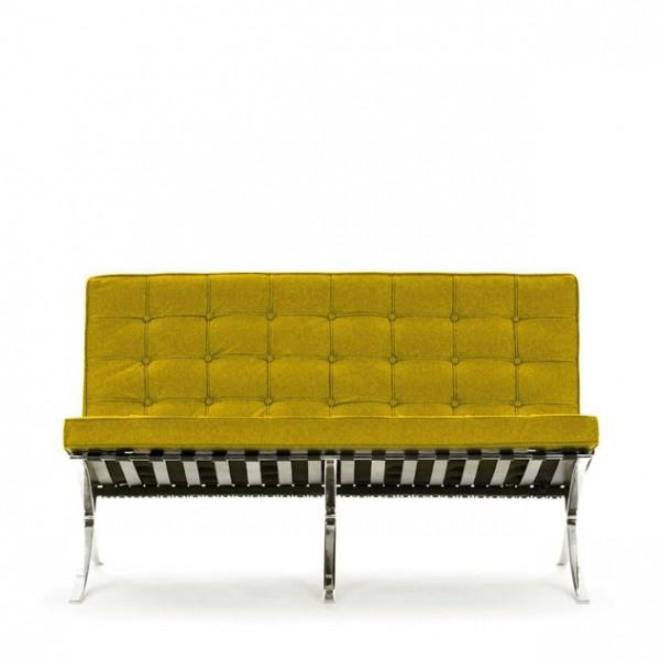 Pavilion Sofa 2 M Stn Mies Van Der Rohe